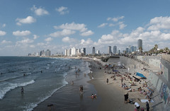 The Tel Aviv beach (jonarnefoss2013) Tags: beach brach xt2 israel telaviv
