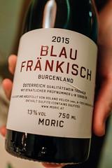 2015 Blaufränkisch, Moric, Burgenland (Premshree Pillai) Tags: stockholm sweden stockholmdec17 dinnerforone tastingmenu gastrologik wine blaufränkisch winter