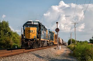 CSX 6440 - Piqua, OH