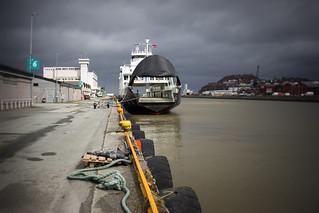 'Tresfjord' car ferry