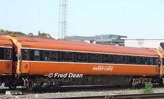 "Irish Rail ""7140"" at Heuston. (Fred Dean Jnr) Tags: september2006 dublin irishrail iarnrodeireann heustonstationdublin dublinheustonstation mk3 openstandard 7140 markiii"