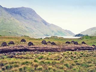 Irlande, les tourbières du Connemara