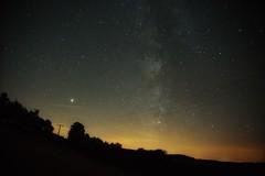 Milchstraße über der Eifel (clemensgilles) Tags: deutschland starlight night nachtfotografie astrofotographie sterne sternenhimmel eifel germany