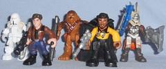 Hasbro - Smugglers and Scoundrels Pack (Darth Ray) Tags: hasbro starwars galacticheroes smugglers scoundrels pack star wars galactic heroes