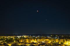 Luna Roja y Marte