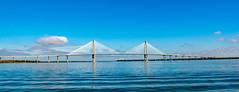 Arthur Ravenel Jr Bridge (Shawn Blanchard) Tags: arthur ravenel jr bridge structure water sky blue cloud clouds charleston south carolina sc engineer