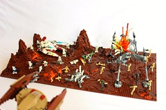 -Battle of Geonosis- (First Order Lego) Tags: lego moc starwars clonewars epic cool