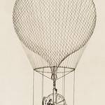 Directions of Balloons (Addison system),  design by Annibal Ardisson (?-1886), a proposal of a system to navigate the balloon. Original from Library of Congress. Digitally enhanced by rawpixel. thumbnail