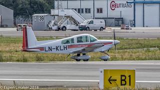 LN- KLH Grumman American AA-5A Cheetah