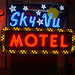 Sky Vu Motel Sign