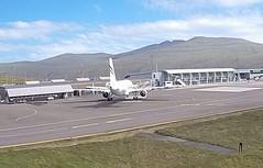 Rotana Jet Airbus A319 A6-RRJ Besiktas FC football team charter Faroe Islands Vagar Airport webcam capture (AirportWebcams.net) Tags: rotana jet airbus a319 a6rrj faroe islands vagar airport webcam capture fae ekvg