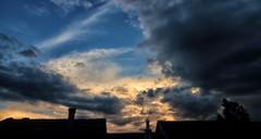 Abend (wernerfunk) Tags: wolken clouds sky