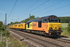Colas Rail Freight Class 67 67023 'Stella' & 67027 'Charlotte' (Barry Duffin) Tags: train testtrain railway networkrail colas class67 67023 67027 gamston retford heaton derbyrtc 1q18 ecml 35mm