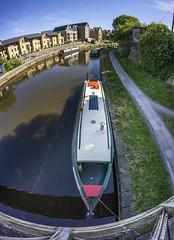 My boat (chaotic river) Tags: lancaster canal city fish eye samyang 8mm narrow boat