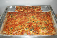 10 - Salmon spinach cake - Finished baking / Lachs-Spinat-Kuchen - Fertig gebacken (JaBB) Tags: blätterteig puffpastry lachs räucherlachs smokedsalmon salmon dill käse cheese cremefraiche eier eggs food fingerfood lunch dinner snack essen nahrung nahrungsmittel mittagessen abendessen kochen backen cooking baking kochexperiment kochexperimente küche kitchen rezept recipe foodblog foodblogger