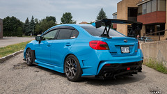 IMG_2351 (PedoJim) Tags: subaru wrx sti varis blue ivy nextmod turbo ej25 wing racecar lachute quebec montreal brembro bakemono track car
