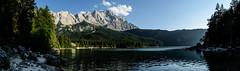 Eibsee und Zugspitze (stefan m. prager) Tags: stefanmprager europe germany grainau bayern deutschland de eibsee zugspitze mountain lake