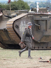 YWE2018 (clarks666) Tags: reenactors ww1 ywe2018 tank uniform military history warfare conflict war 20thcentury army