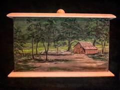 Keepsake Box (clarkcg photography) Tags: box painted folk keepsake handmade crazytuesday 7dwf