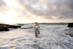 Danielle & Phoenix @ Sandy Beach 09 (JUNEAU BISCUITS) Tags: portrait portraiture beach ocean sunrise sunset hawaii hawaiiphotographer