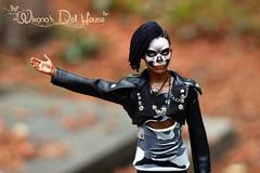 Skull boy (wixanawiggova) Tags: doll maledoll ken mattel barbie barbiedoll ooakken ooakdoll repaint reroot rasta skull skullboy zombie zombieboy