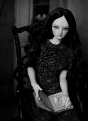 books (dolls of milena) Tags: bjd abjd resin doll portrait books supia nael