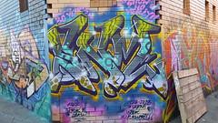 Kozie: 'SNM'... (colourourcity) Tags: streetart streetartaustralia streetartnow streetartmelbourne graffiti graffitimelbourne melbourne burncity colourourcity colourourcitymelbourne fun notserious nohaters burner kozie snm cw str