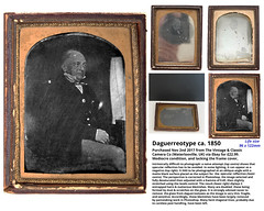 Daguerreotype ca.1850 (John E G Kemp) Tags: daguerreotype 1850 £2299 ebay photoshop specularreflection difficult photography negative blemish entrapped hairs restoration