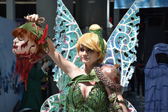 Tinkerbell (GetChu) Tags: anime expo 2018 ax los angeles convention center cosplay comic manga cartoon coser video game character costume tv show tinkerbell disney peter pan head