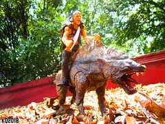 Warg (THE AMAZING KIKEMAN) Tags: the lord rings toy biz warg orc action figures