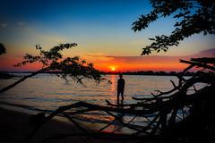 100A1108 (CdnAvSpotter) Tags: sunset petrie isand silhouette model girl clouds landscape ottawa river redskyatnight sailorsdelight aviatorsdelight nature