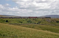 60s steam 11-08-68 class 47 at Ribblehead Viaduct. (dubdee) Tags: ribbleheadviaduct 15guineaspecial 1t57 class47