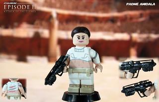Custom LEGO Star Wars: Attack of the Clones | Padmé Amidala