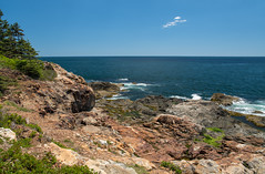 Vista III ({Brinkervelt}) Tags: greathead maine mtdesertisland clouds blue beautiful coastline landscape seascape sea rocks