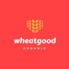 Logo-wheatgood-Flicker (creoeuvre) Tags: creoeuvre logo icon studio brand minimal modern wheat food health sleek organic wheatgood seed yellow orange eat bakery farmer