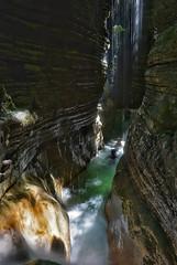 La luz se hizo lluvia (jaecheve) Tags: huesca aragon españa spain pirineos pirineo pyrennees barranco barranquismo canyonering