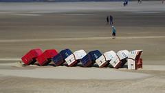 Sturmsicher (Cydracor) Tags: uthlande beach strand nordfriesland kniepsand noorsaarep norddorf frisia northsea nf strandkörbe strandkorb oomram tz71 lumixtz71 lumix panasonictz71 panasonic nordsee amrum cydracor