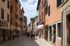Rovinj: Carera ulica (Wolfgang Bazer) Tags: via carera ulica rovinj rovigno istrien istria kroatien croatia