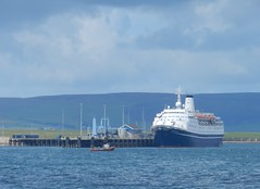 Marco Polo Cruise Ship, Kirkwall, Orkeny Islands, June 2018 (allanmaciver) Tags: marco polo cruise ship orkney islands north water cloudy allanmaciver kirkwall harbour