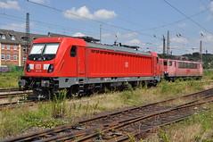 DBS 187 129-2 Oberhausen Bw Osterfeld (Davy Beumer) Tags: oberhausen bw osterfeld dbs