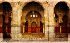 Bou Inania (alanchanflor) Tags: canon marruecos fez arcoherradura medina madraza textura