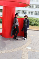 The Protagonist and Makoto Niijima from Persona 5 (NekoJoe) Tags: amecon amecon2018 ame ame2018 animeconvention astrallocke convention cosplay cosplayer cosplayers coventry england gb gbr geo:lat=5237792346 geo:lon=156064399 geotagged makotoniijima midlands persona5 theprotagonist uk unitedkingdom warwickartscentre