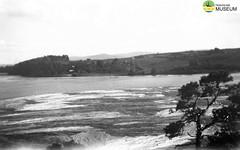 tm_4603 - Fryken, Värmland 1944 (Tidaholms Museum) Tags: svartvit positiv torsby sjö fryken semesterresa 1944 landskap