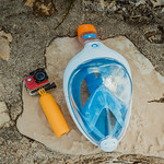 Full face snorkeling mask and underwater camera thumbnail