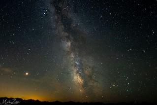 Milky way At the Ridge