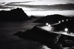 la route du retour (asketoner) Tags: marseille france calanques national park mountain island night sunset clouds sea citylights road street cars landscape