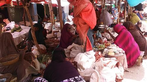Market day in Borama