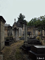 ... (Jean S..) Tags: cemetery graves old ancient montparnasse paris trees