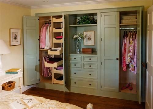 Built In Closet Ideas