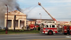Reynoldsburg 3rd Alarm (Central Ohio Emergency Response) Tags: reynoldsburg ohio fire third alarm 3rd days inn mifflin township ladder truck